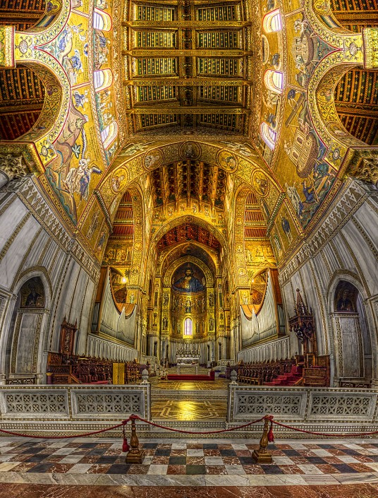 Cathedral of Monreale (HDR Vertorama)