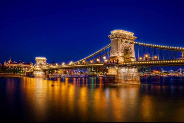Chain Bridge (HDR)