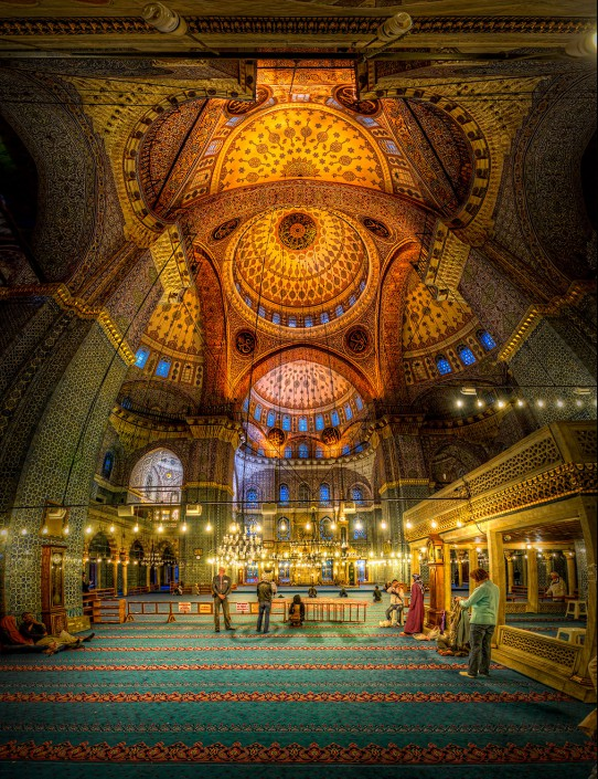 New Mosque (HDR Vertorama)