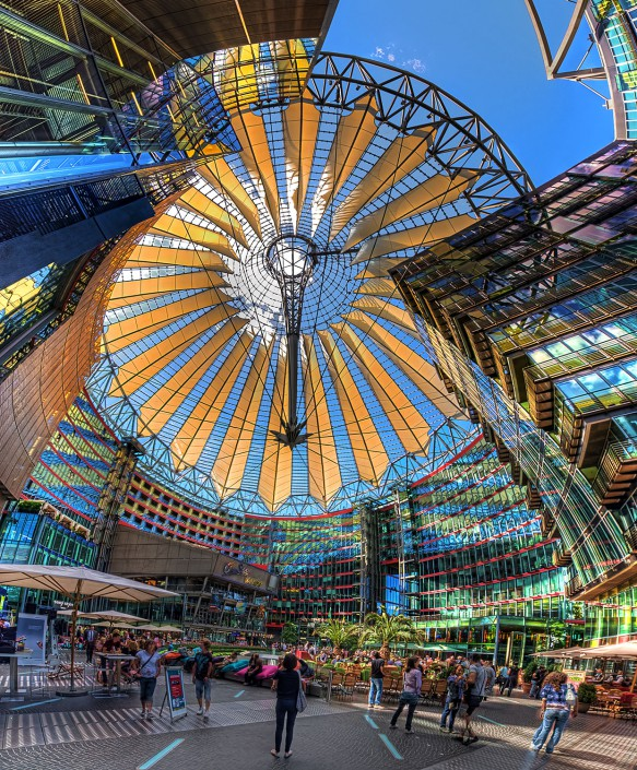 Sony Center (HDR Vertorama)