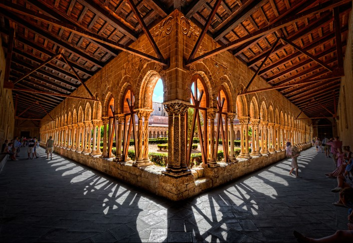 The Cloister (HDR)