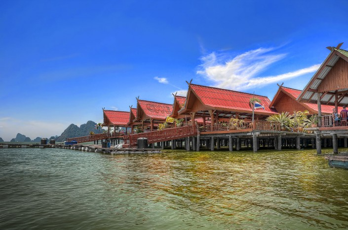 The Fishing Village (HDR)