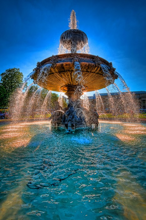 The Fountain (HDR)