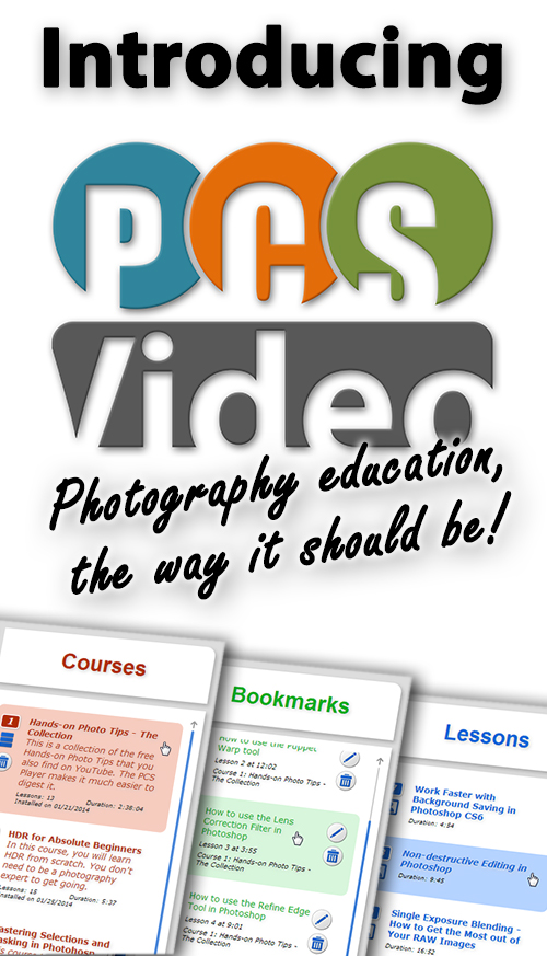Introducing PCS Video - Changing the way you learn photography