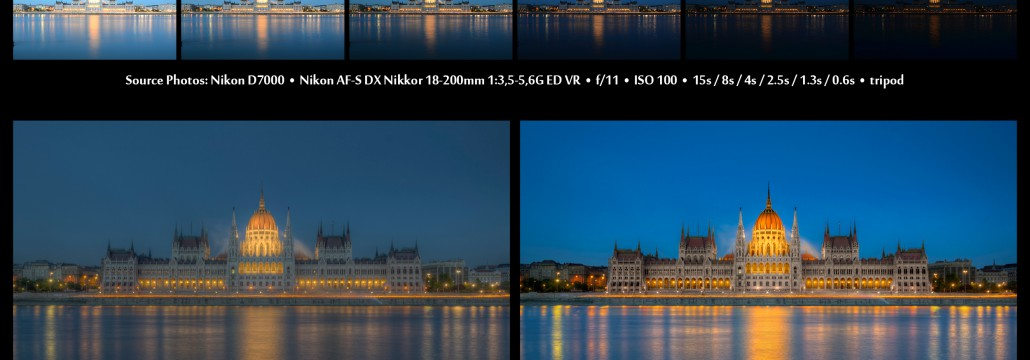 HDR Before and After: The Parliament