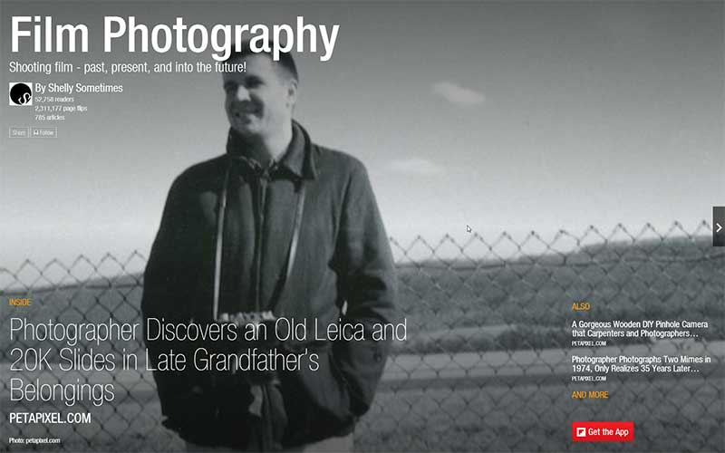 Film Photography Flipboard Magazine by Shelly Sometimes