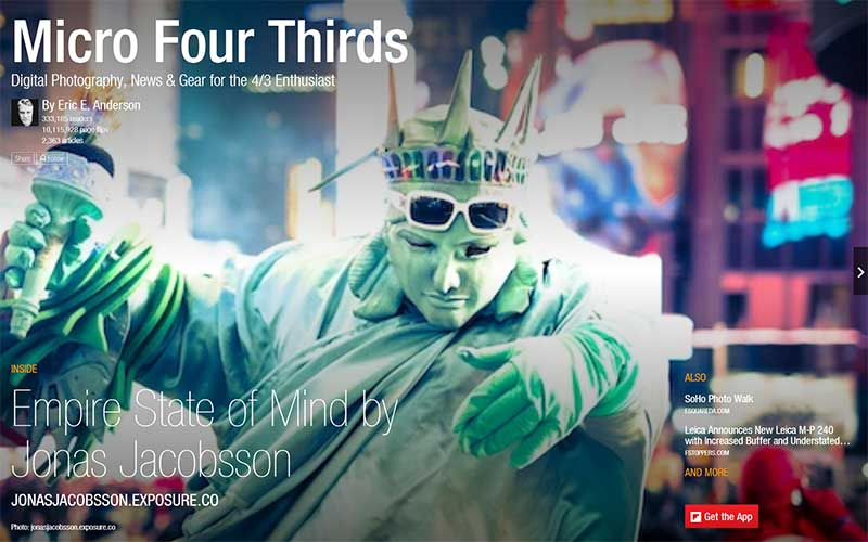 Micro Four Thirds Flipboard Magazine by Eric E. Anderson