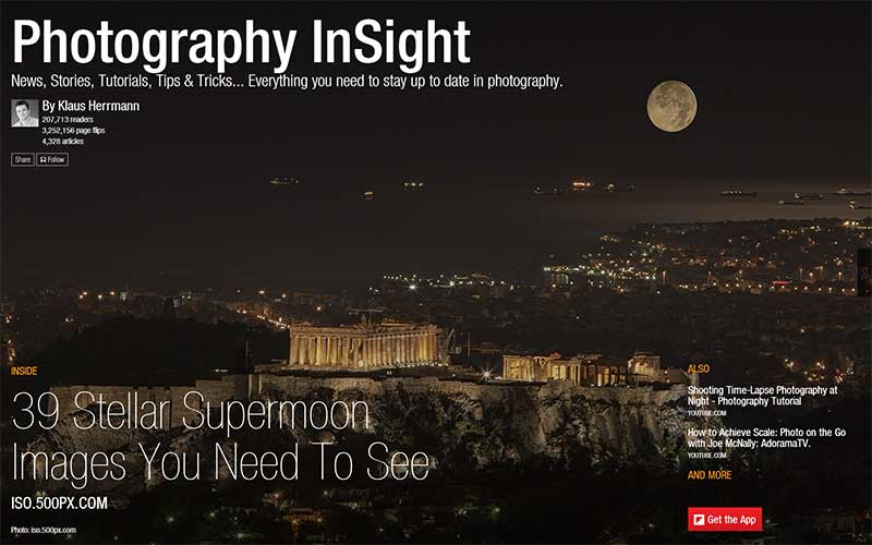 Photography InSight Flipboard Magazine by Klaus Herrmann