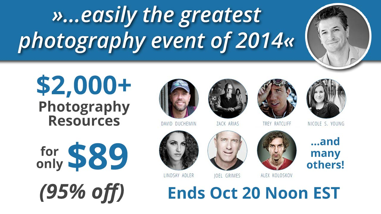 $2,000+ Photography Resources for $89. No Kidding!