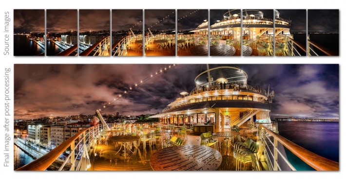 How to shoot high-quality panorama images