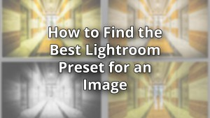 How to Find the Best Lightroom Preset for an Image