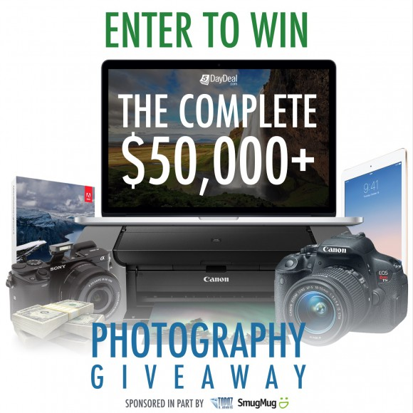 5DayDeal-Complete-50000-Photography-Giveaway-General