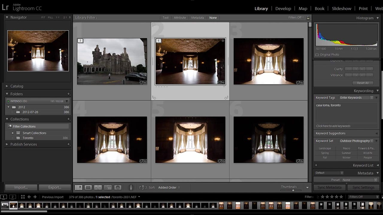 How to Stack Your Images in Lightroom to Clean up the Mess
