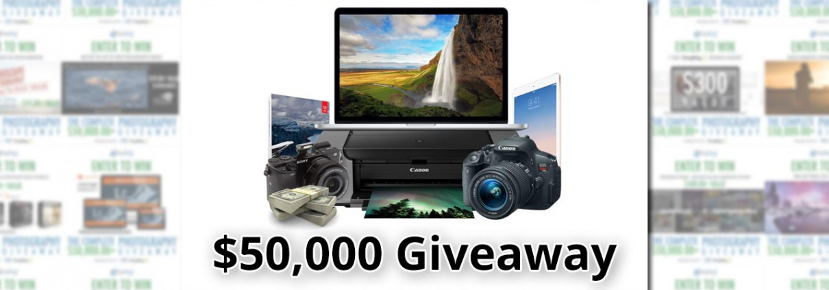 The Crazy $50,000 Photography Giveaway