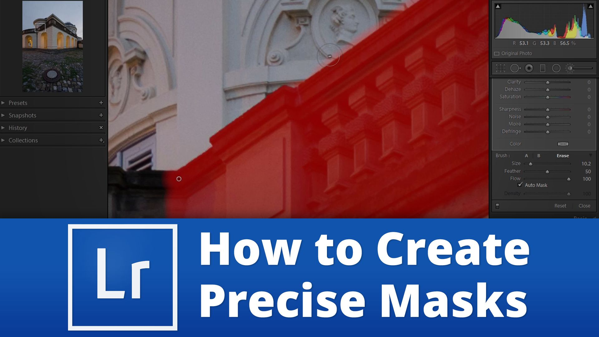 How to create precise masks in Lightroom