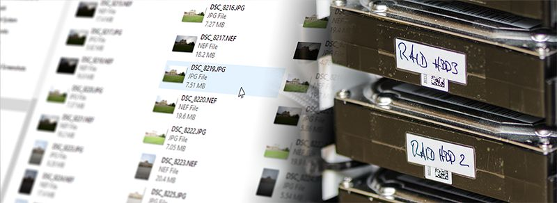 How to Back Up Terabytes of Photos Quickly and Safely - farbspiel ...