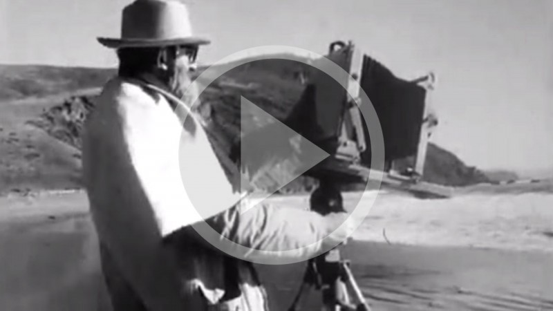Ansel Adams' exposure process.