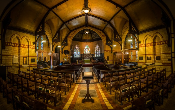 The Church - 9-Exposure HDR Panorama