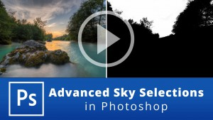 Advanced Sky Selections in Photoshop