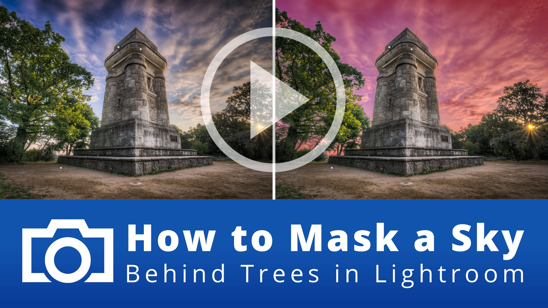 How to Mask a Sky Behind Trees in Lightroom