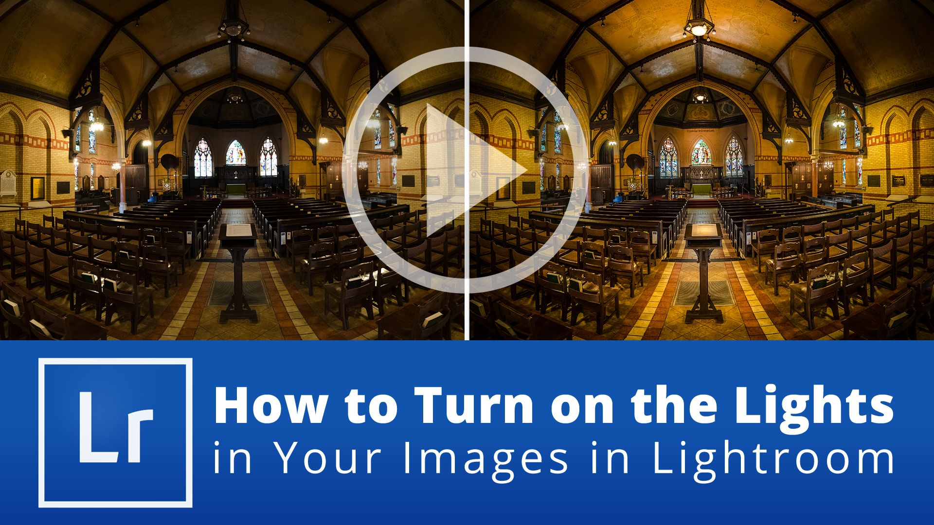 How to Turn on the Lights in Your Images in Lightroom