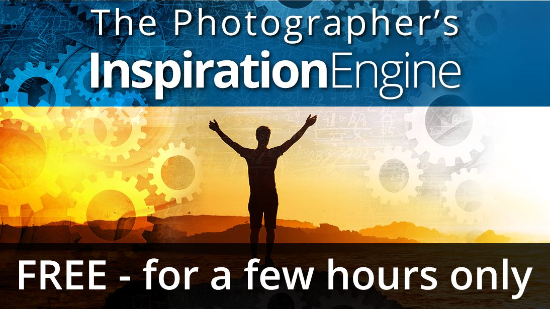 The Photographer's Inspiration Engine – FREE – for a few hours only