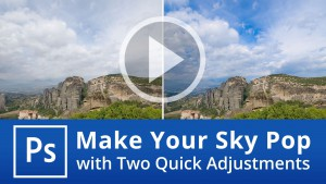 Make Your Sky Pop in Photoshop with Two Quick Adjustments